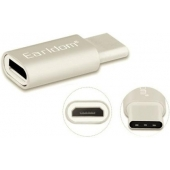Earldom Micro-USB naar USB-C adapter